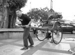 """Sdr. Alex cuba membawa """"kenderaan lama"""" yang popular digunakan sebelum kedatangan basikal/sepeda ke Tanah Melayu"""